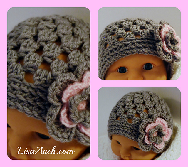 knitted crochet Beanie pattern-wonderful DIY 2