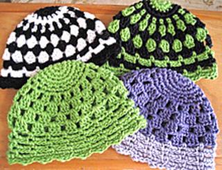 knitted crochet Beanie pattern-wonderful DIY8