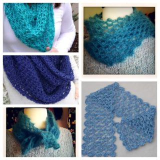 Wonderful DIY Cozy Crochet Lacy Scarf  with Free Pattern