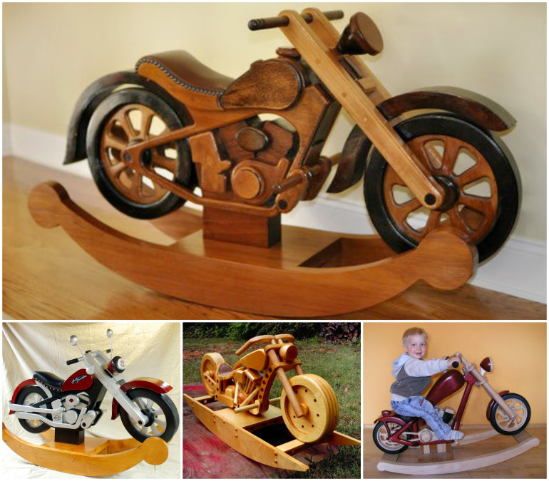 motorcycle rocker -wonderfuldiy