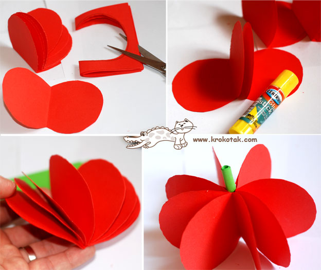 paper fruits-wonderful DIY2