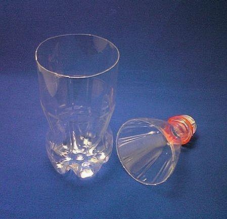 plastic bottle vase- wonderful DIY 3