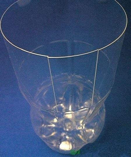 plastic bottle vase- wonderful DIY 4