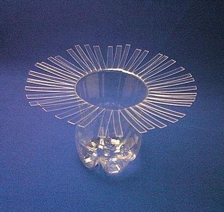 plastic bottle vase- wonderful7