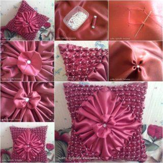 Wonderful DIY Pretty Puff Pillow