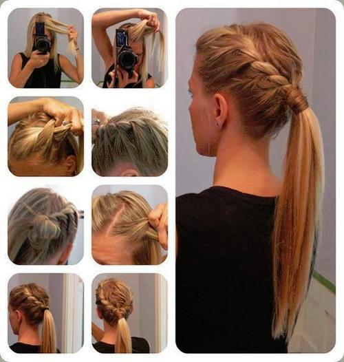 quick hairstyle in 3 minutes- wonderful diy50