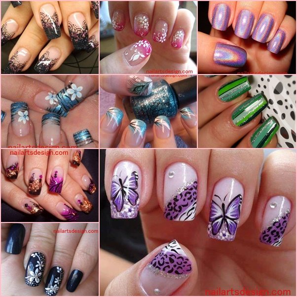 10 latest nail art deaigns wonderfuldiy The Very Best DIY Nail Art Designs: All Free