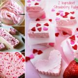 Wonderful DIY Easy Strawberry Fudge with 2 Ingredients