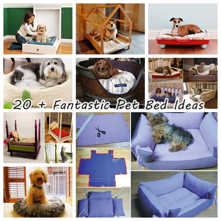 20 pet bed ideas wonderfuldiy 20+ Fantastic Pet Bed ideas