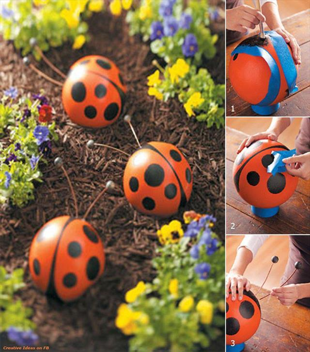 VIEW IN GALLERY 25 Easy DIY Garden Projects Wonderfuldiy4