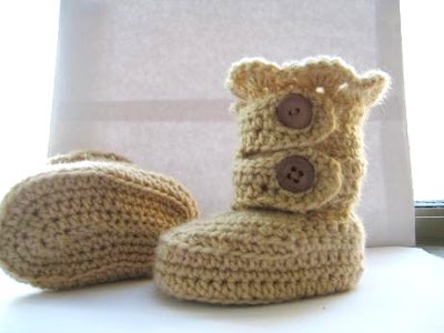 crochet snow boots pattern-wonderfuldiy4