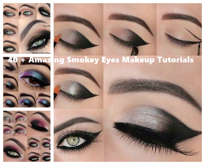 Amazing Smokey Eyes Makeup Tutorials