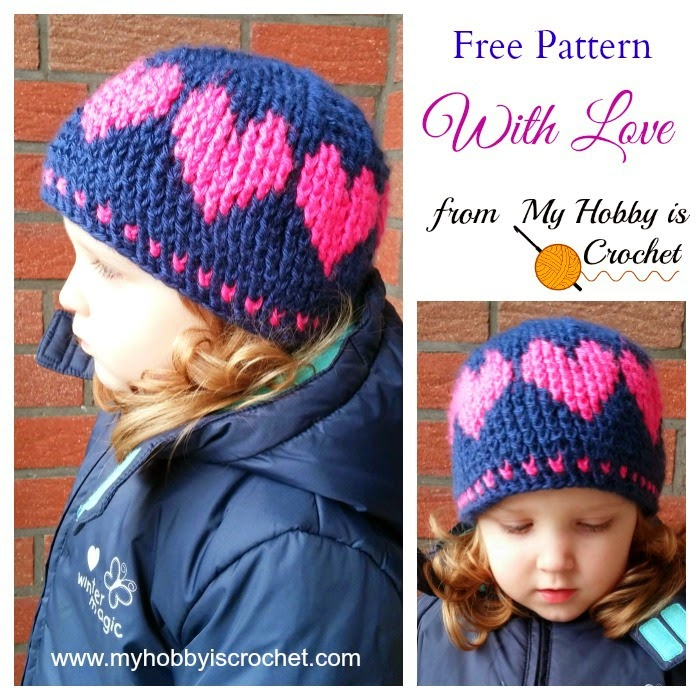 A Hat With Love wonderfuldiy How to Crochet a Hat for Beginners