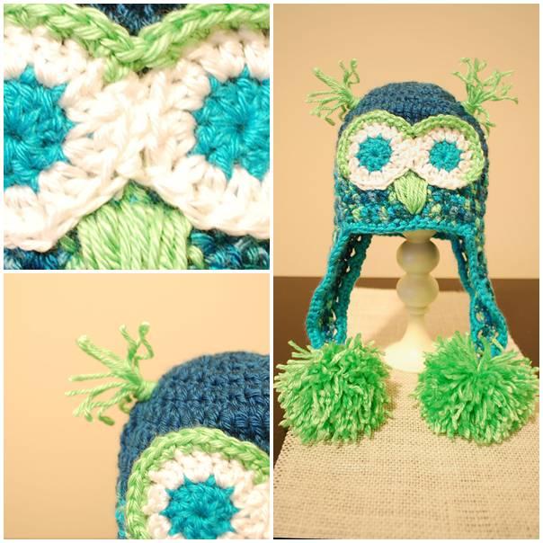 Baby-Crochet-Owl-Hat