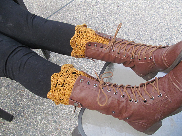 Boot-Cuff-free Pattern-wonderful DIY12