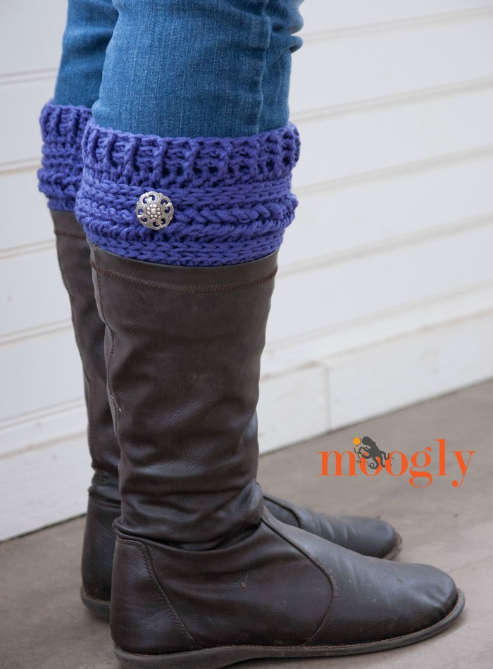 Boot-Cuff-free Pattern-wonderful DIY16