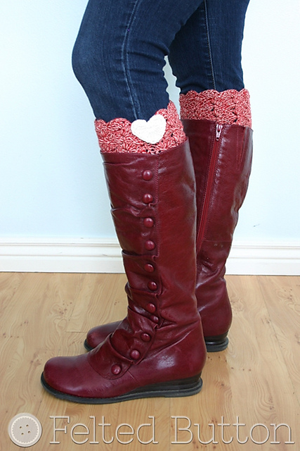 Boot-Cuff-free Pattern-wonderful DIY17
