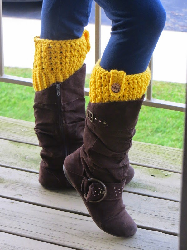 Boot-Cuff-free Pattern-wonderful DIY18