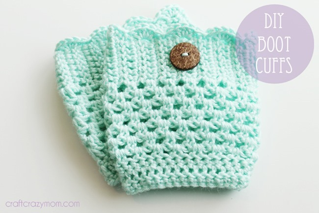 26 Wonderful Free Patterns For Crochet Boot Cuffs