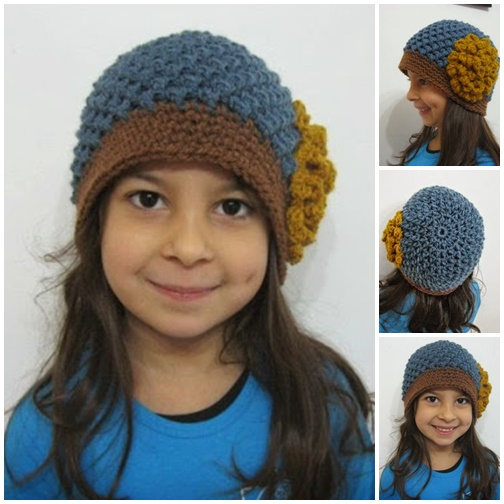 Butterfly Stitch Beanie-wonderfuldiyF