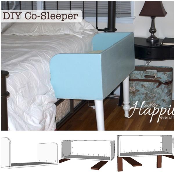 Co Sleeper wonderfuldiy DIY Mommy Baby Co sleeping Bed
