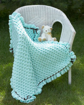 Crocodile Stitch Baby Blanket wonderfuldiy11 Cute and Cozy Crochet Crocodile Stich Baby Blanket