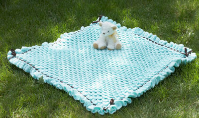 Crocodile Stitch Baby Blanket -wonderfuldiy2