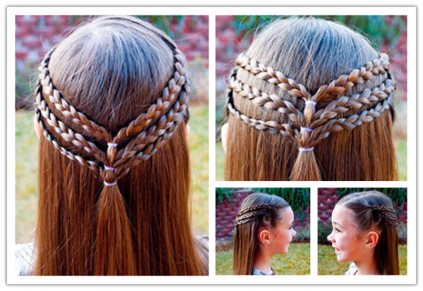 Cute-Princess-Hairstyle-For-Long-Hair-wonderfuldiy
