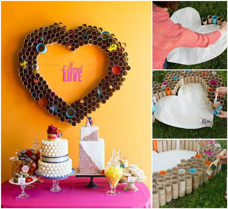 DIY-Beautiful-Paper-Heart-Wall-Art