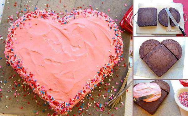 Wonderful Diy Heart Shaped Cake For Valentine S Day
