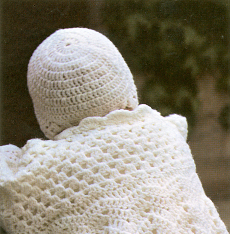 Free Christening Coat & Bonnet Crochet Patterns
