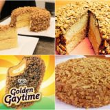 Wonderful DIY Golden Gaytime Cake