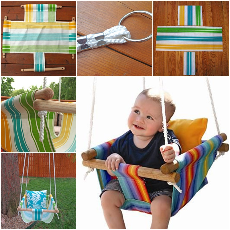 Hammock Type Baby Swing wonderfuldiy Wonderful DIY Hammock Type Baby Swing