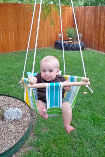 Hammock Type Baby Swing wonderfuldiyB Wonderful DIY Hammock Type Baby Swing