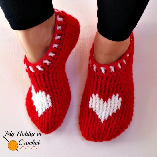 Heart-Slippers-wonderfuldiy