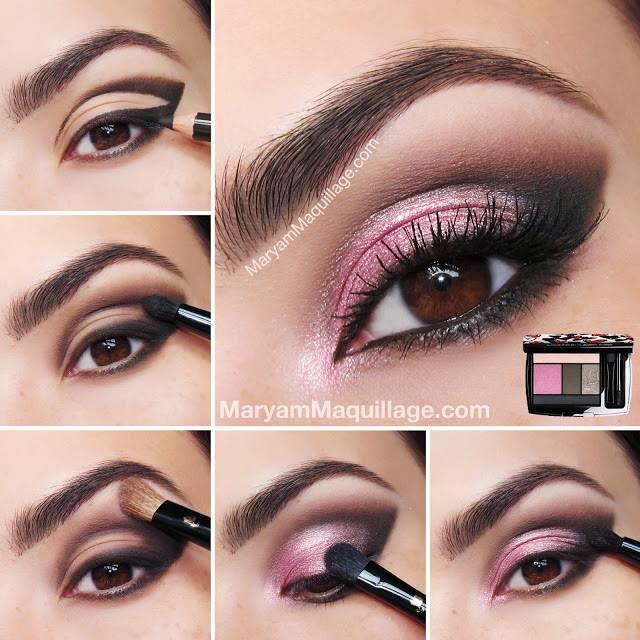 Hot-Pink-Smokey-Eye-Makeup-wonderful diy4