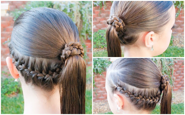 VIEW IN GALLERY How To Do A Fancy Ponytail Wonderfuldiy 8 Fantastic  Princess Hairstyles For Your Sweetie