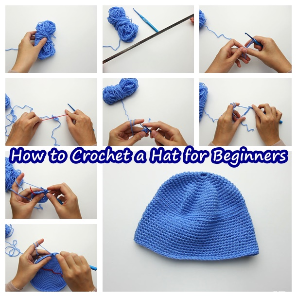 How to Crochet a Hat for Beginners-wonderfuldiy