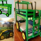Tractor Bunk Bed for Boys