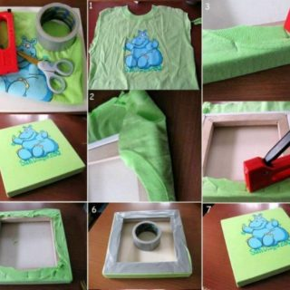 Wonderful DIY Easy Kids T-Shirt Art