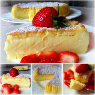 Wonderful DIY Magic Custard Cake