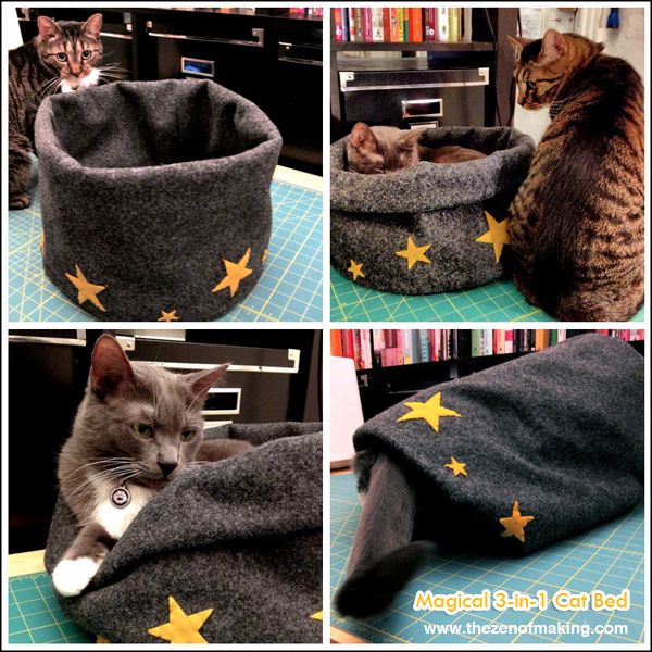 Magical 3-in-1 Cat Bed