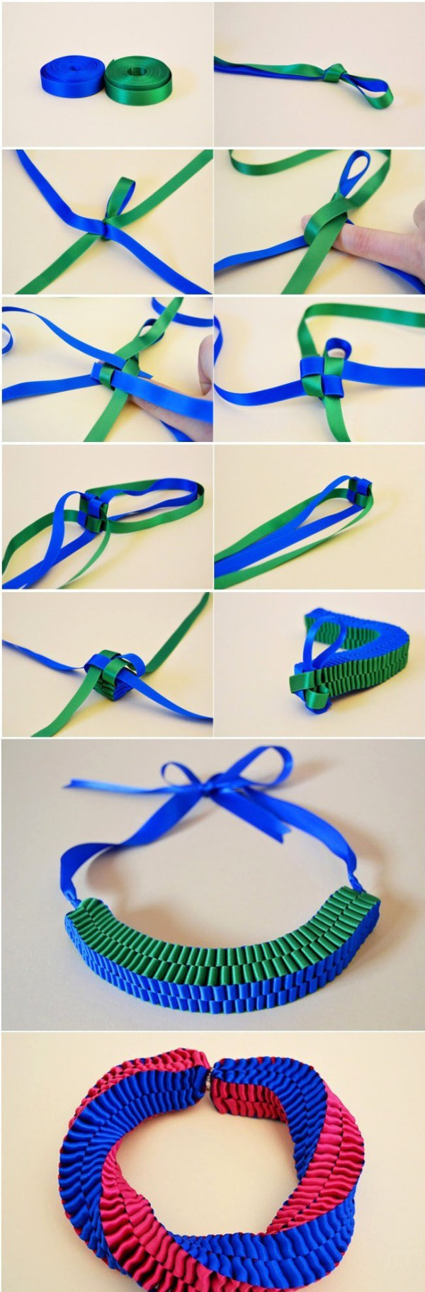 Make A Ribbon Bracelet wonderfuldiy1 Wonderful DIY Unique Ribbon Bracelet