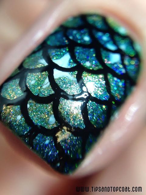 Mermaid Nail Art wonderfuldiy2 30+ Classic Mermaid Nails art Design