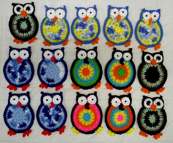 20 Super Cute Crochet Knitted Owl Patterns