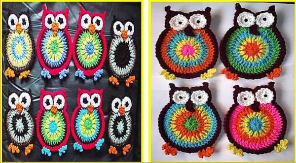 Owl-Coaster-Crochet-Pattern