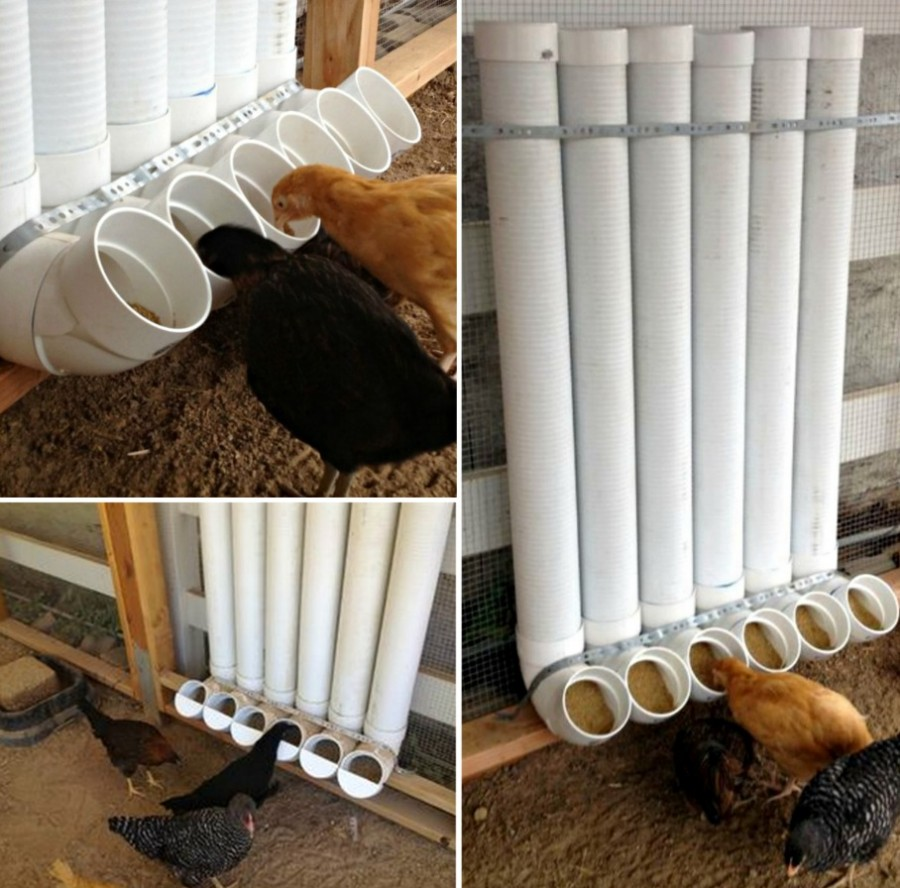 PVC Chicken Feeder wonderfuldiy Wonderful DIY Garage Tool Organizer
