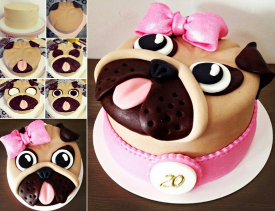 Dog Birthday Cakes Diy