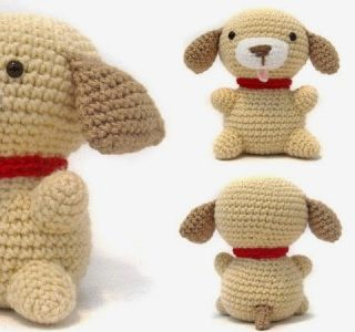 Wonderful DIY Crochet Puppy Amigurumi
