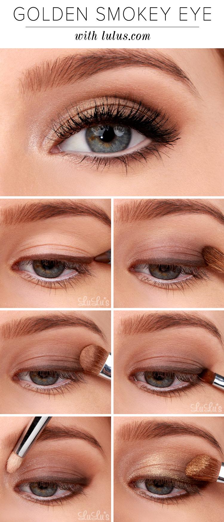 Smokey Eyes Tutorials12